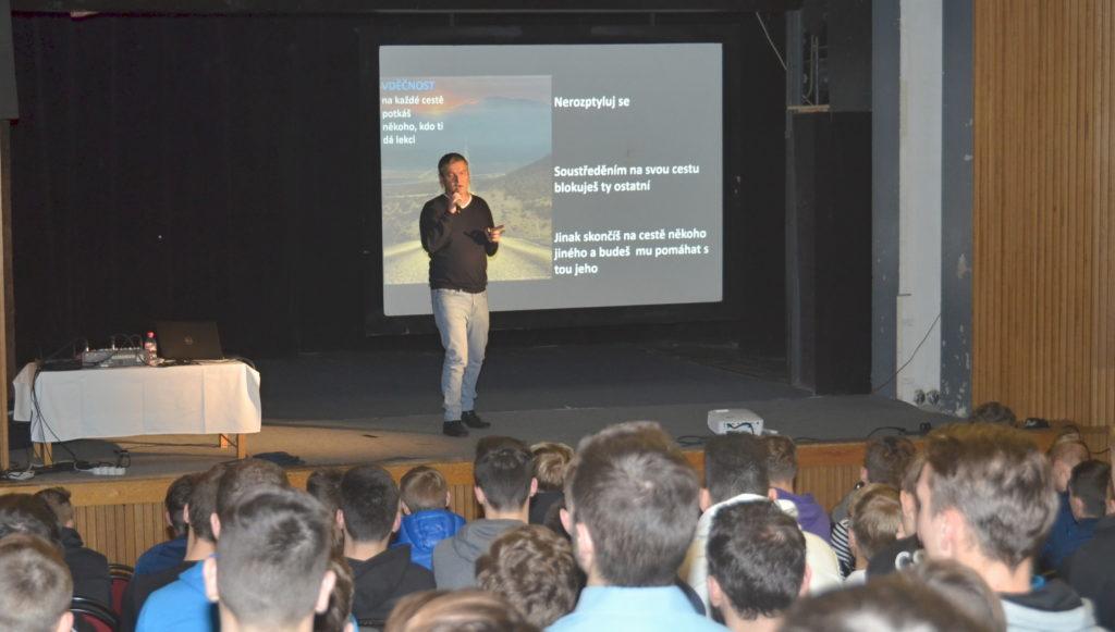 SMT Academy - David přednáší